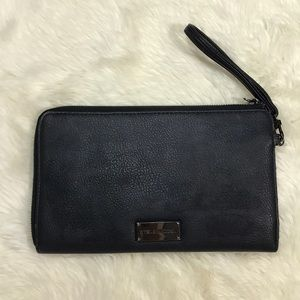 Steve Madden Oversized Wristlet Clutch Wallet